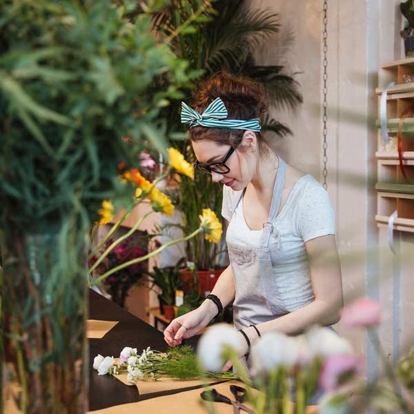 køb lokalt - blomster
