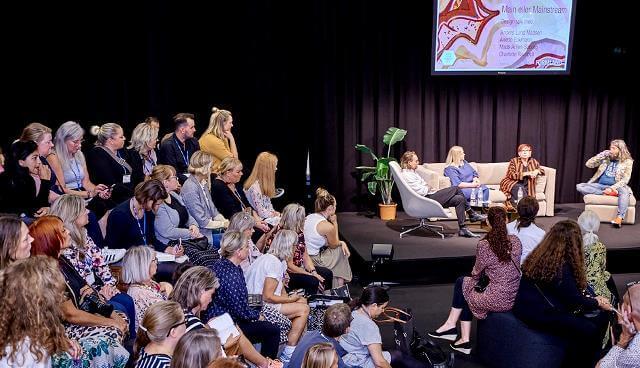 Stine holder foredrag på Formland Spring 2019